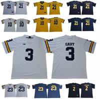 b7a7226b7 Michigan Wolverines 10 Brady Jersey 2 Woodson 3 Rashan Gary 12 Chris Evans  23 Tyree Kinnel 21 Desmond Howard College Football Jerseys