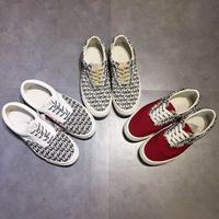 Оптовая Red Страхи кроссовки женщин и мужские Low Cut FOG Era Повседневная обувь Мода любителей Холст обувь 35-45