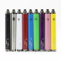 Vision Spinner 2 Batterie 1600mAh 3.7V eGo Twist - 4.8V Vision Spin II batterie de tension variable pour 510 fil Atomiseur