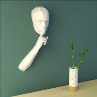 Taboo parede lembrete silencioso pendurado decorações no escritório biblioteca de nenhuma língua Restaurante Novidade Itens