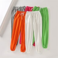 High Waist Womens Casual Sports Pants Loose Jogger Bloomers ...
