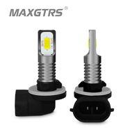 2x H1 H3 880 881 H27W H27 H27W/2 3570 çip Canbus LED Ampul araba LED Sis sürüş ışıkları DRL lamba beyaz 6000 K Altın 3000 K buz Mavi
