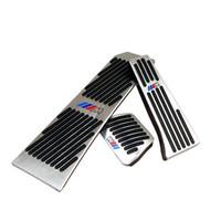 Нет Drill газа Тормозной Подножка Педали Тарелки Pad для BMW New 5 6 7 серии GT Touring X3 X4 Z4 алюминиевого сплав подножки газа педали тормоза