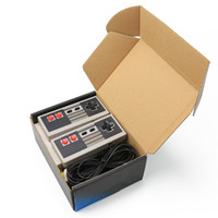 Mini Oyun Konsolu El NES oyunları için 620 oyunu saklayabilirsiniz perakende kutuları ile sıcak satış dhl konsolları