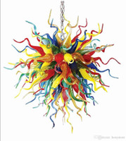 Colorful Lamps Italy Atistic Lobby Pendant Lamps Murano Styl...