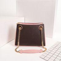 حقائب اليد الأنيقة الأزياء حقائب مصمم جلد طبيعي المرأة Surene BB حمل الحجم 24x17x11 سم نموذج M43777