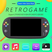 X16 16GB Game Console 7INCH Handheld Portable Classic Video ...