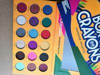 in azione! scatola di pastelli Eyeshadow Palette iShadow 18 luccichio di colore opaco della gamma di colori di occhio di trucco DHL