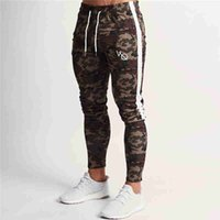 2019 Spring New Men vq Gyms Slim Joggers Gyms Woodland Camo ...
