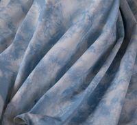 50 * 160CM Cielo blu inchiostro di stampa denim tessile vestito camicia libera del tessuto di seta patchwork sfondo decorazione fai da te in poliestere tessuto C853