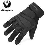 Militärische taktische Handschuhe Outdoor Sports Vollfinger Armee Kampf Motorrad Rutschfeste Männer Kohlefaser Schildpatt Handschuhe