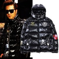 Winter New Men' s Down Parkas Fashion Casual Duck Down J...
