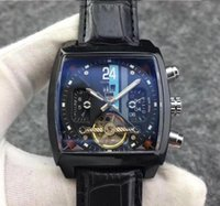 Hot sale 2019 fine mechanical tourbillon watch full pointer ...