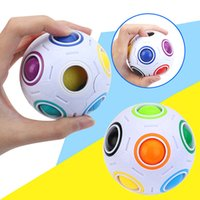 Magic Rainbow Ball Magic Cube Speed Football Fun Creative Sp...