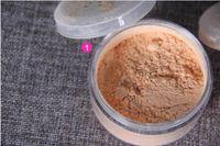 Venta de aceite de control de ajuste fábrica polvo suelto impermeable de larga duración miel Polvos de maquillaje fijo 3 colores de maquillaje S0103