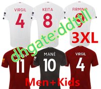 S- 3XL MAN+ WOMEN+ KIDS 2018 19 20 red white and black Soccer J...