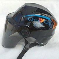 Kuulee 오토바이 헬멧 자전거를 타고 방풍 보호 안전 하프 페이스 헬멧 야외 스포츠 높은 품질 자전거