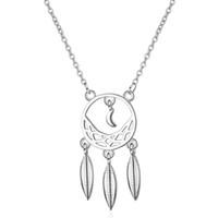 DZ359 Ожерелье женский лесной арт инкрустация алмазом захватить мечта чистое ожерелье простой личности кисточкой листья короткие цепи ключицы
