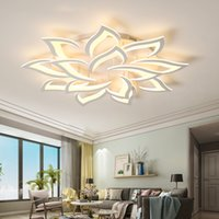 New LED Lampadario per soggiorno Camera da letto Camera da letto Casa Moderna Lampadario Lampadario Lampadario Lampadario Lampadario Lampada Illuminazione Illuminazione del soffitto