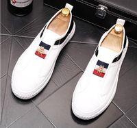 Designer italiano Moda Maschio Cuspo Fivet Pelle Appartamento British Scarpe British Suede Mocassini Slip-on Hairstylist Casual Mens Black Shoes S241