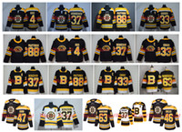 Boston Bruins 37 Patrice Bergeron 4 Bobby Or 63 Brad Marchand 33 Zdeno Chara 88 David Pastrňák David Krejci Debrusk Hockey authentique