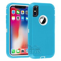Durable Hybrid Defender Case for iPhone XS MAX XR X 8 7 plus...