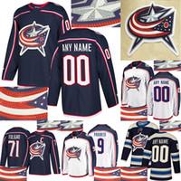 콜럼버스 블루 자켓 저지 뜨거운 드릴링 3 Seth Jones 71 Nick Foligno 모든 번호의 모든 이름 Hockey Jerseys 사용자 정의