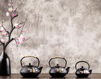 hediyeler malzemesi Eski Çin Döküm Çaydanlık Kettle Plum Blossom Çaydanlık 300ml / 600ml / 800ml mutfak