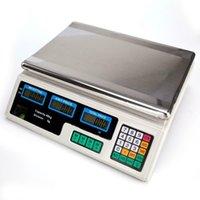 디지털 무게 가격 규모 88LB / 40KG 컴퓨팅 식품 고기 스케일 농산물 델리