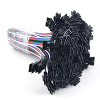 100pairs 5pin JST SM 남성 여성 플러그 LED 5050 SMD RGBW RGBWW LED 스트립에 대 한 15cm 긴 와이어와 커넥터 케이블