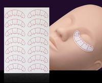Paper Patches Adesivo ciglia Sotto Eye Pads Lash Estensione ciglia Carta Patch Occhi Consigli Sticker Wraps Make Up Tools