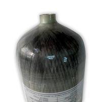 Acecare 9L de alta presión PCP 300Bar 4500Psi Importación de fibra de carbono Tanque de buceo Cilindro para buceo Equipo de caza subacuático Rifle de aire