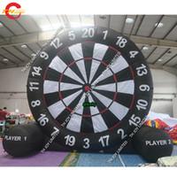 Tragbarer aufblasbarer Fußball-Fußball-Dart-Sportspiel Hochwertiger riesiger aufblasbarer Dart-Board Fussball Golf Dart-Spiel