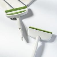 NEW الإبداعية الرئيسية الغبار فرش 2 أدوات رئيس سيارة المخرج تنفيس الهواء الغبار مزيل الملابس تنظيف المنازل H180