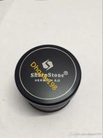 63mm CNC Aluminium SharpStone Version V2 Kräutertabakmühle Zigarettenmelder rauchen SharpStone® 2.0 Hardtop Rauchermühle
