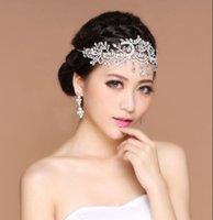 Vendita calda Nuova fronte Bianco Rhinestone Glassa in vetro Crown Corona Accessori da sposa 2020 Sposa Partito Speciale Donna copricapo gioielli