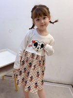 fashion girls boutique clothing white long sleeve kids princ...