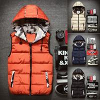 Kış Yelek Üst Erkekler Yelek Kolsuz Sıcak Ceket Yelek Yeni Moda Bodywarmer Fortress Sıcak Sıcak Satış Günlük Katı Coat