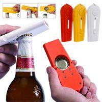 Hohe Qualität Küche Kochwerkzeug Tragbare Fliegende Kappe Zappa Bier Getränk Flaschenöffner Öffnungskappe Launcher Top Shooter Gun