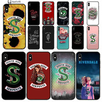 South Side Serpentes Cobra TPU silicone suave Phone Case Capa para iPhone 11 pro XS MAX 8 7 6 6S Plus X 5 5S SE XR grossista