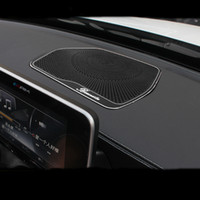Araba Merkezi Konsol Pano hoparlör kapağı koruması Kapak Trim için Mercedes Benz C Class W205 C180 C200 C260 GLC Sınıf X253 Aksesuarları