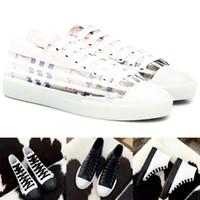 20SS de luxe de femmes Chaussures de sport Vintage Flats Vérifier et cuir Sneaker pour femmes Angleterre Baskets Mode