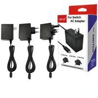 Início Travel Recados AC carregador adaptador interruptor carregador para Nintendo Mudar NS Adaptador de Jogos 5V 2.4A EUA Reino Unido EU Plug USB Tipo C Porta de Carregamento