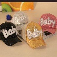 ファッション大人の子供の帽子レター赤ちゃんの親子の赤ちゃんのメッシュシェードサンキャップアヒルの舌5カラーキャップ