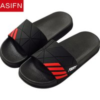ASIFN Slippers Men Home Flip Flops Man Women Summer Slides M...