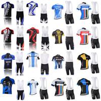 DEV takım Bisiklet gömlek Kollu jersey (önlük) pantolon setleri Ropa Ciclismo Hızlı Kuru Mtb Pro Bisiklet Giyim Aşınma Jel Pedi C1407