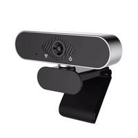 2MP 풀 HD 1080P 웹캠 와이드 스크린 비디오 작업 홈 액세서리 PC 컴퓨터 용 마이크 USB 웹 카메라가 내장 된 USB 웹 카메라