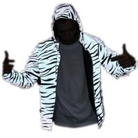 Смешные печатные Отражающие куртки Мужчины Женщины Бренд с капюшоном Мужские Куртки и Пальто повседневной Ночной Флуорескен Ветровка Весов Homme Размер S-2XL