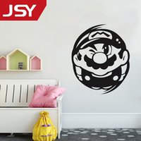 Jiangs Yu 1 PC Super Mary Mario Wall Stickers Home Decoratio...
