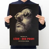 Wall Stickers Leon The Professional Vintage Movie Poster Ret...
